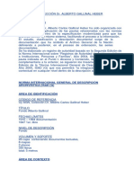 Gallinal Archivo AGN