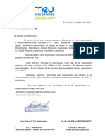 Carta de Presentacion Ptm