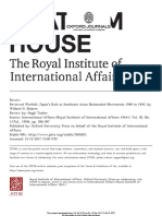 Japan's Role in SEA Nationalism Review1