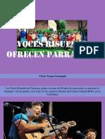 Voces Risueñas de Carayaca Ofren Parrandas en Espacios Abiertos Del B.O.D