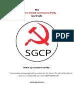 Sgcp Manifesto
