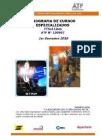 Programa Cursos Especializados CTSol Lima I Semestre 2016