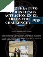 Armando Nerio Hanoi Guédez Rodríguez - Venezuela Tuvo Una Destacada Actuación en El Aruba Chess Challenge 2017
