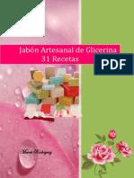 Jabones Artesanales de Glicerina-31 Recetas