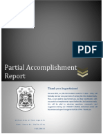 usasc partial accomplishment report a y  2014-2015