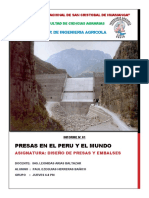 01. PRESAS EN EL PERU Y EL MUNDO (Informe N° 01)