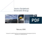 Renewable Energy Industry Guidebook