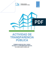Actividad 1. Transparencia Pública