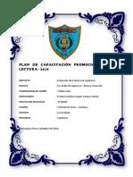 Plan de Capacitación Promoción de La Lectura