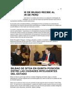El Alcalde de Bilbao Recibe