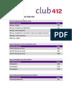 Catalogo Club412
