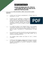Documentos Obligatorios 2017 Procesos Cas