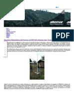 Estaciones Meteorológicas Del Proyecto ALTERNAR Recibieron Visita Técnica de Interventoría