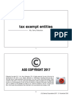 Exempt Corporations AGS 2017