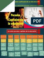 Lectura 9. Los Sietes Pecados Capitales de La Edcuación. Reynaldo Suárez Díaz.
