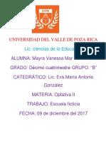 Escuela Maria Montessori Terminada