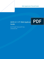 A10 Networks WAF Guide