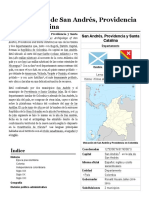 Archipiélago de San Andrés, Providencia y Santa Catalina - Wikipedia, La Enciclopedia Libre