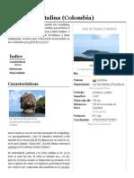 Isla Santa Catalina (Colombia) - Wikipedia, La Enciclopedia Libre