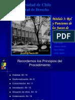 Rol y Funciones de Los Jueces de Familia.