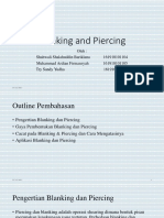 Blanking and Piercing PPT
