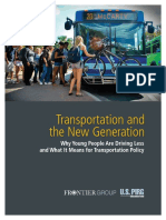 Transportation & the New Generation VUS