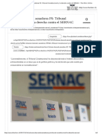 Columna Bancada Senadores PS_ Tribunal Constitucional y La Derecha Contra El SERNAC - The Clinic Online
