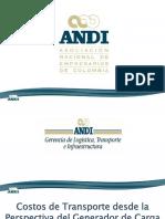 Gerencia LTI ANDI - Costos de Transporte Desde La Perspectiva Del Generador de Carga_2015