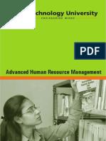 Advanced Human Resource Management Rai University