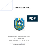 Pedoman Program Lansia