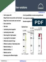 MAN-Cylinder Liner Variations