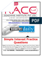 Simple Interest PDF for Bank Exams IBPS SBI PO Clerk RRB