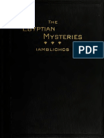 Theurgia Egyptian Mysteries Transl Alexander Wilder 1915