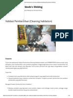 Validasi Pembersihan (Cleaning Validation) _ Bambang Priyambodo's Weblog.pdf