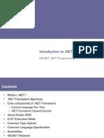 IntroTo .NET Technology