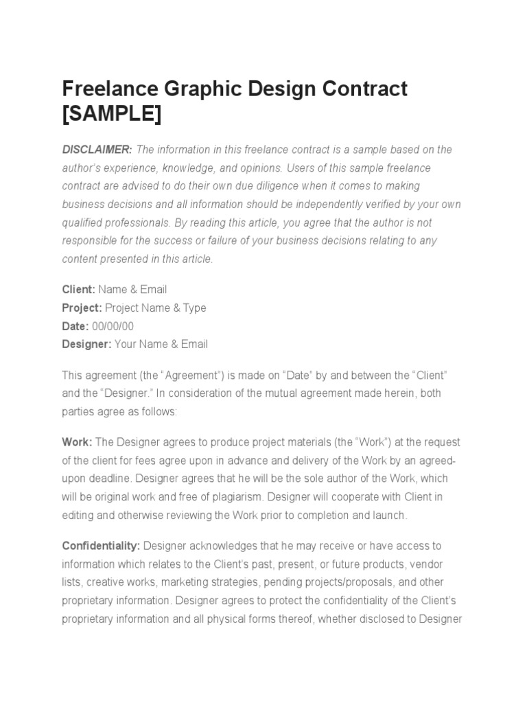 Freelance Graphic Design Contract Sample Employment Confidentiality,Aesthetic Minecraft Farm Design