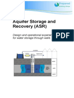 D5.2.2 Aquifer Storage and Recovery (ASR). Design and Operational Experiences for Water Storage Through Wells