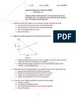 Assignment 01 (Economics)