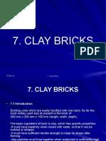 7 Clay Bricks