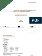 RECOMENDAÇÕES TÉCNICAS PARA EQUIPAMENTOS SOCIAIS (RTES)