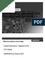 NASSCOM FY10 industry growth press release