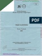 TKD Saintek 101 [Edukasicampus.net]