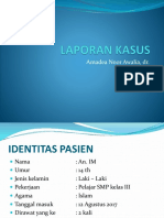 LAPORAN KASUS Presentasi Dr. Dea