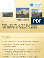 HSE Presentation 115/13.8KV S/S