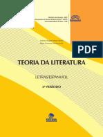 Livro da Disciplina Introdução a teoria geral da literatura