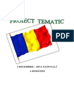 Proiect Tematic 1 Decembrie