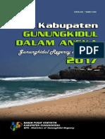 Kabupaten Gunungkidul Dalam Angka 2017