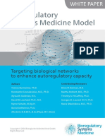 Bioregulatory Systems Medicine