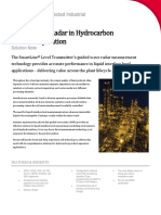 SmartLine Level GWR in Hydrocarbon Separation Solution Note