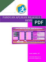 Panduan Aplikasi Nilai k13 Revisi 2017